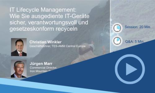 Webinar-Aufzeichnung: So geht nachhaltiges IT Lifecycle Management