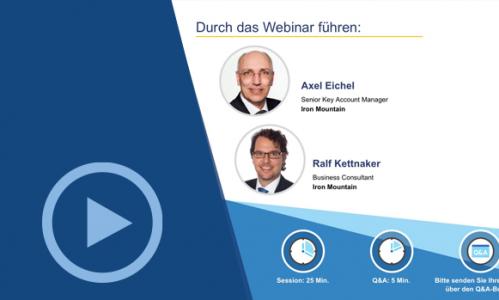 Webinar: Verfahrensdokumentation & Revisionssicherheit